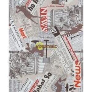 Жаккард Нюз (News) ширина 140 см