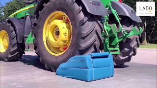 Бескаркасное кресло Арго VS трактор Джон Дир КРАШТЕСТ   VanDivan
